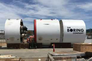 بورینگ کمپانی حفر دومین تونل زیرزمینی لاس وگاس را بهاتمام رساند